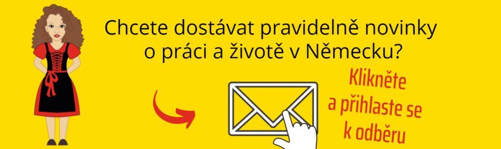 Newsletter jakdonemecka.cz